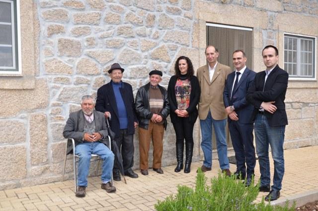 CEL Manuel Santos, Manuel Monteiro, José Escada, Catarina Amaral , Luis Celinio e Miguel Alves
