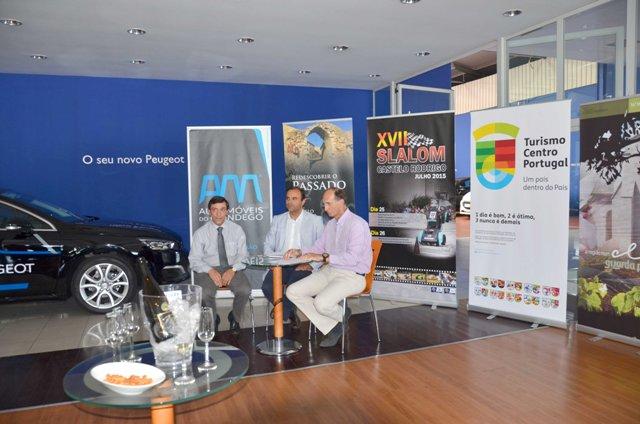 Foto 1 - R2_Conferência - Orlindo Serra, Paulo Langrouva e Luis Celinio