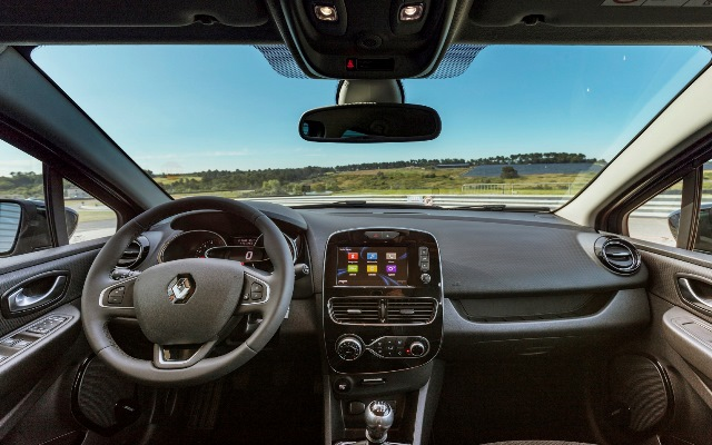 Novo Renault Clio_interior