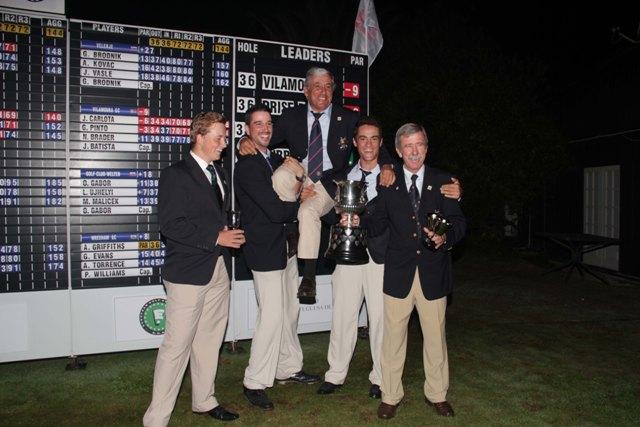 Clube de Golfe de Vilamoura celebra vitória em 2013 na Aroeira foto de rui Frazão-FPG-LR