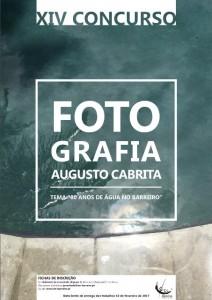 CARTAZ A3 e A4 - concurso fotografia 2017