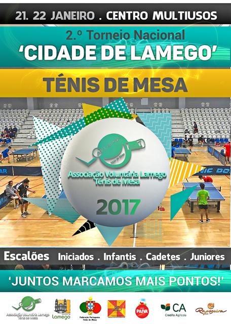 Cartaz - II Torneio Cidade de Lamego