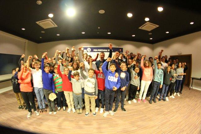golfe Conferência de Imprensa de jovens com os craques do golfe português. fotografia de João Coutinho-LR