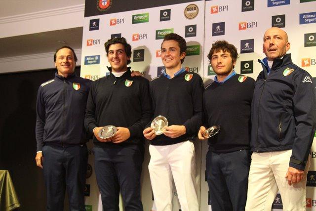 golf Itália campeã da Taça das Nações por Ana Vicente-PR
