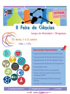 Cartaz Feira de Ciências 2017