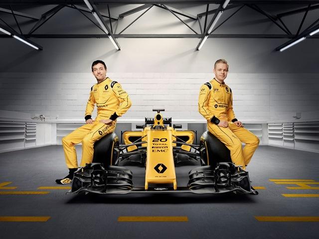 R.S. 16 -Jolyon Palmer e Kevin Magnussen